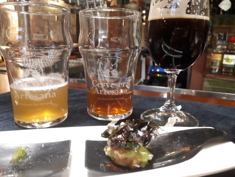 Gastrotap a La Cervesera Artesana